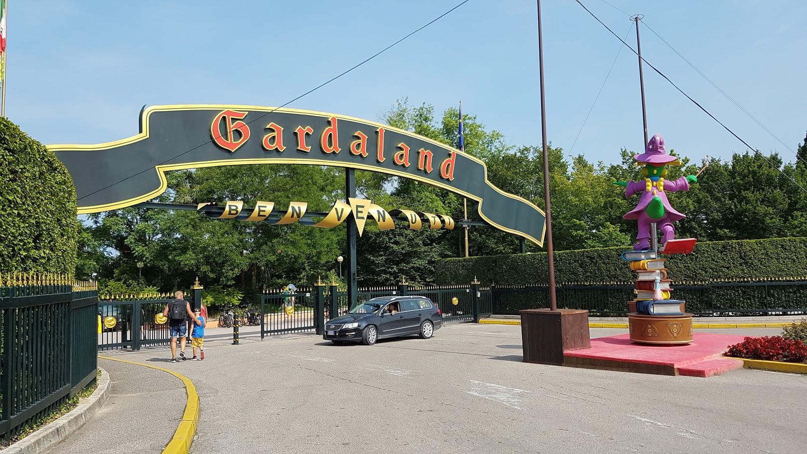 Gardaland Eingang
